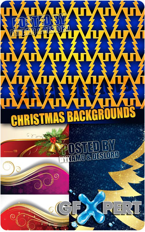Christmas backgrounds - Stock Vectors