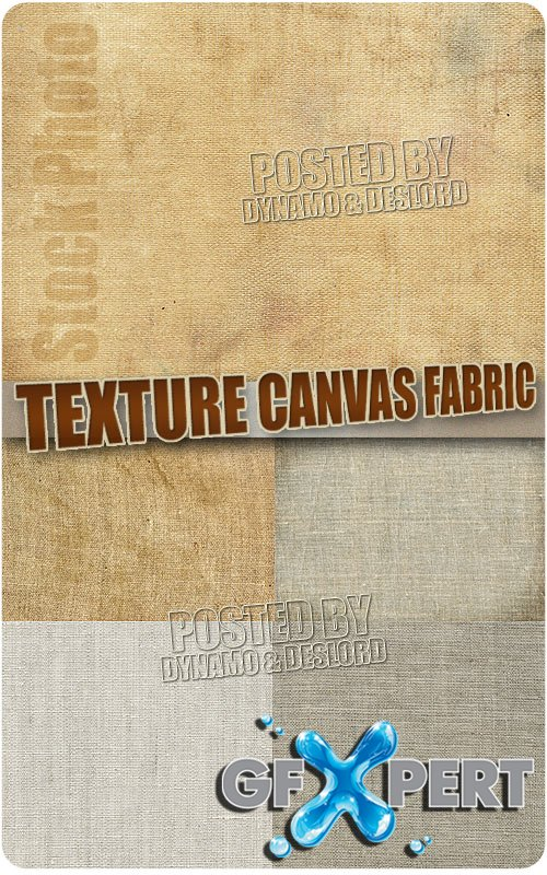 Texture canvas fabric - UHQ Stock Photo