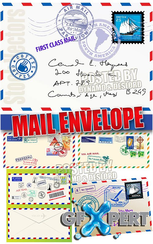 Mail envelope - Stock Vectors