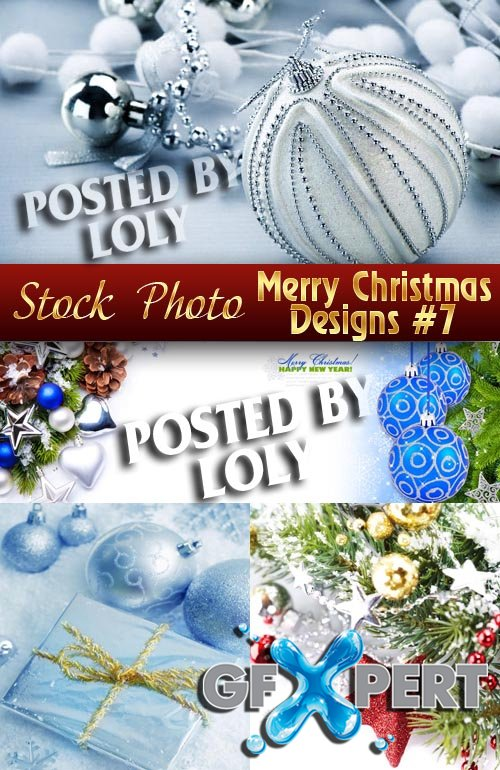 Merry Christmas Designs #7 - Stock Photo