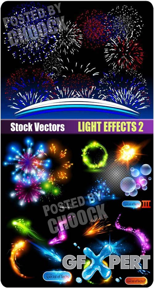 Light effects 2 - Stock Vector