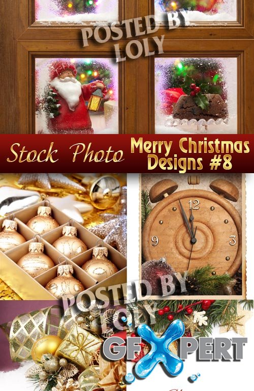 Merry Christmas Designs #8 - Stock Photo