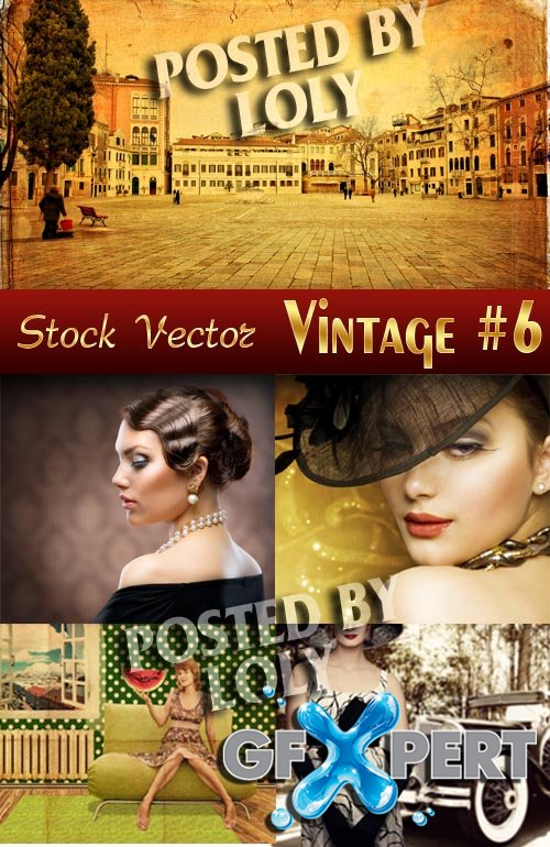 Vintage backgrounds #6 - Stock Photo