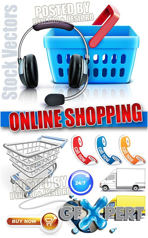 Online Shopping - Stock Vectors