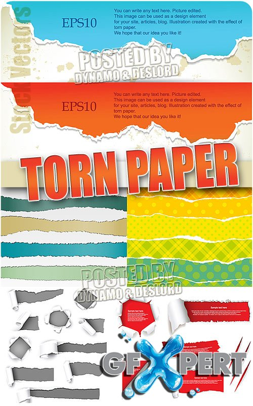 Torn paper - Stock Vectors