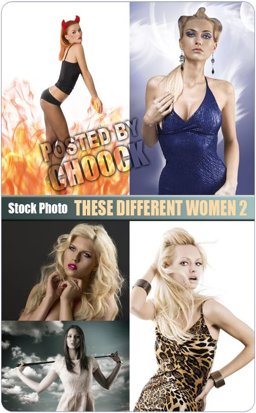 These different women 2 - Stock Photo