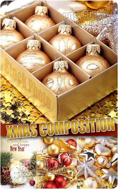 Xmas composition 2 - UHQ Stock Photo