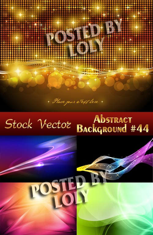 Vector Abstract Backgrounds #44 - Stock Vector