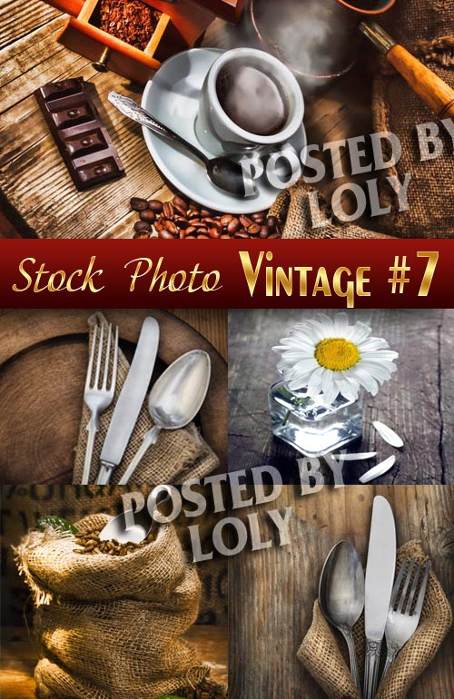 Vintage backgrounds #7 - Stock Photo