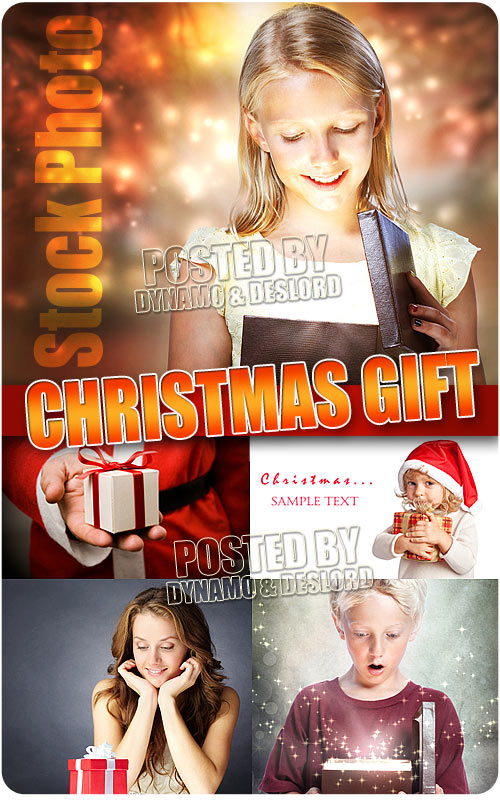 Christmas gift - UHQ Stock Photo
