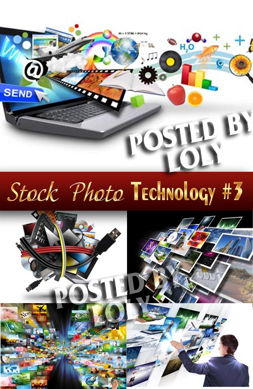 Modern technology #3 - Stock Photo