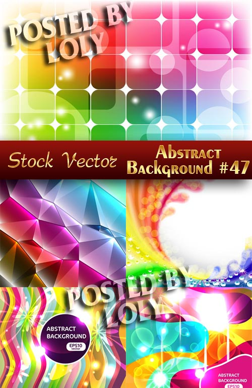Vector Abstract Backgrounds #47 - Stock Vector