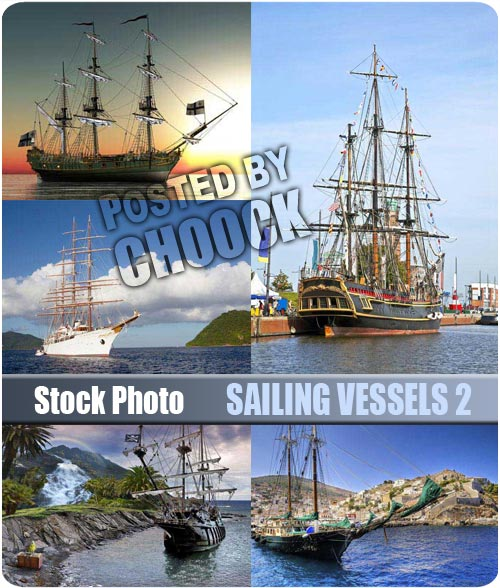 Sailing vessels 2 - Stock Photo