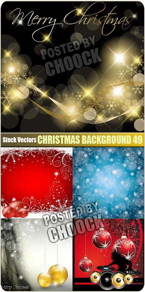 Christmas background 49 - Stock Vector