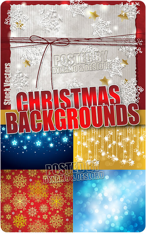 Christmas backgrounds 4 - Stock Vectors