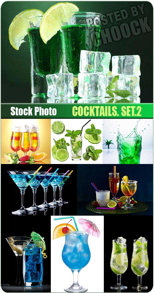 Cocktails. Set.2 - Stock Photo