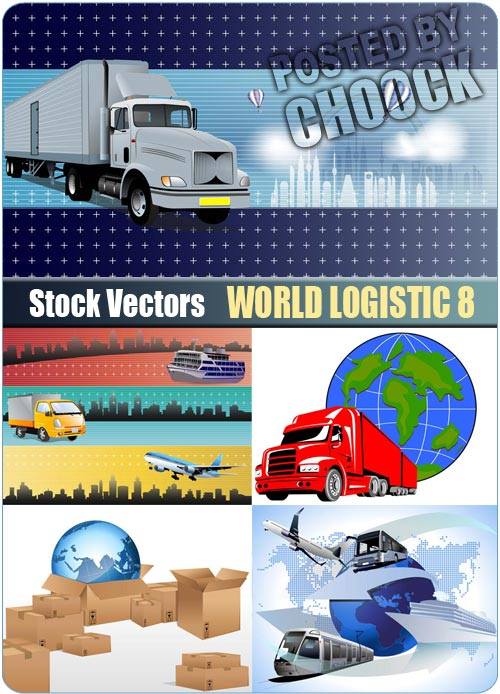 World logistic 8 - Stock Vector