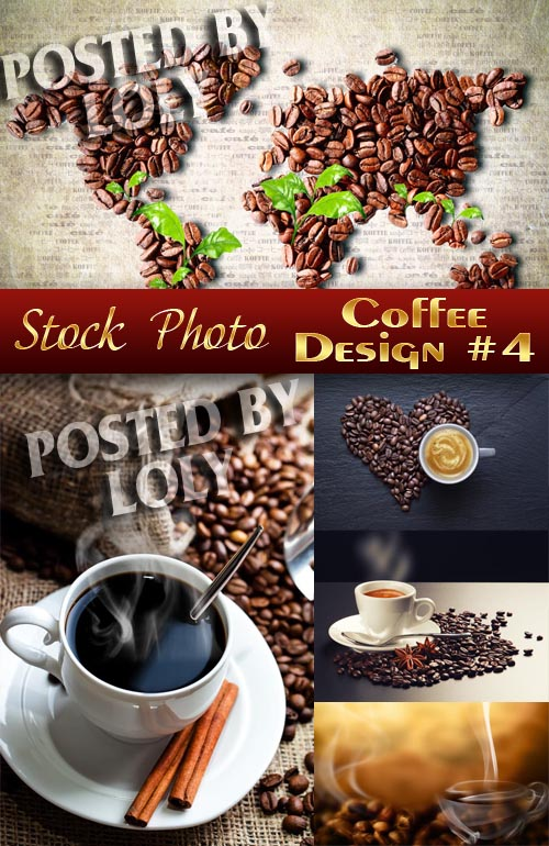 Coffee Designs #4 - Stock Photo