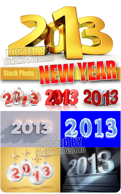 2013 New Year - UHQ Stock Photo