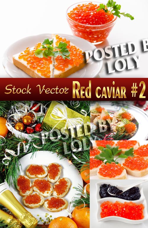Red caviar #2 - Stock Photo