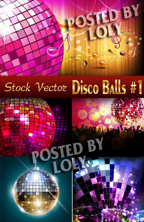 Disco #1 - Stock Vector