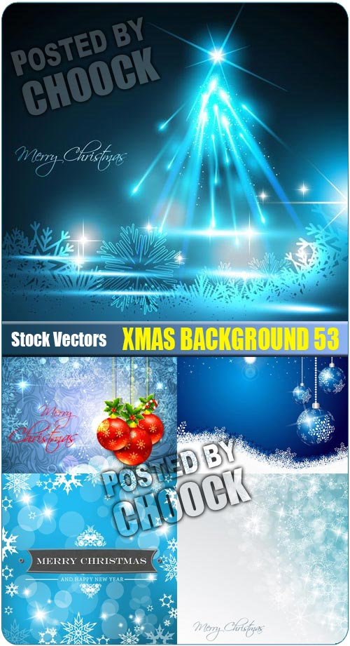 Xmas background 53 - Stock Vector