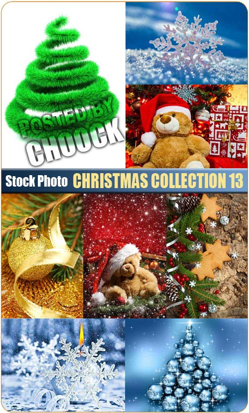 Christmas collection 13 - Stock Photo