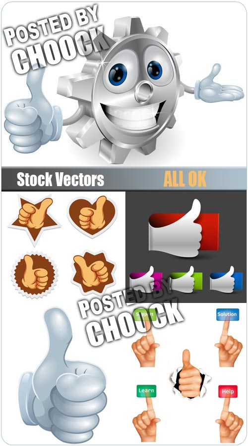 All ok - Stock Vector