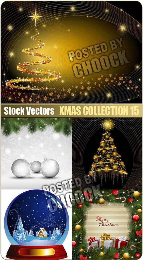 Xmas collection 15 - Stock Vector