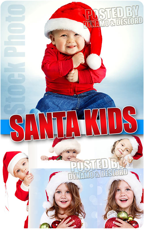 Santa kid - UHQ Stock Photo