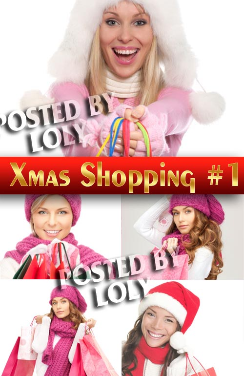 Shopping Girls #1 - Stock Photo