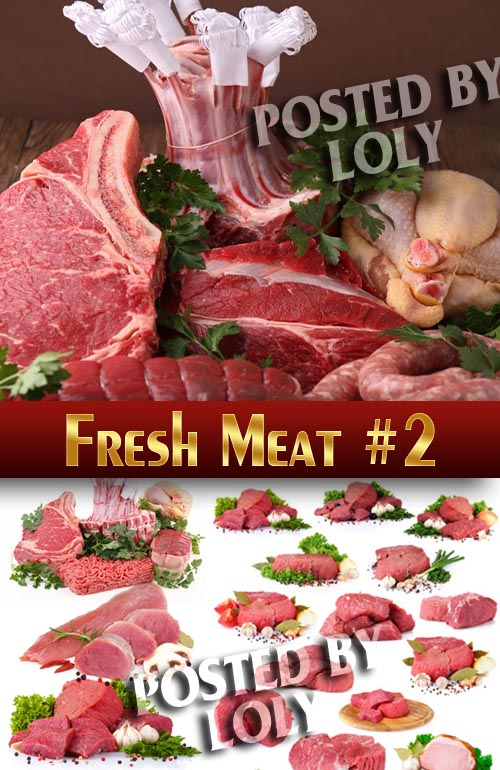 Fresh Meat #2 - Stock Photo