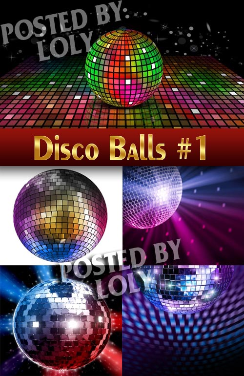 Disco #1 - Stock Photo