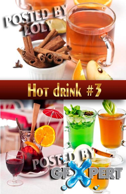 Hot Drinks #3 - Stock Photo