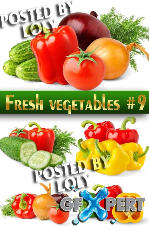 Fresh vegetables #9 - Stock Photo