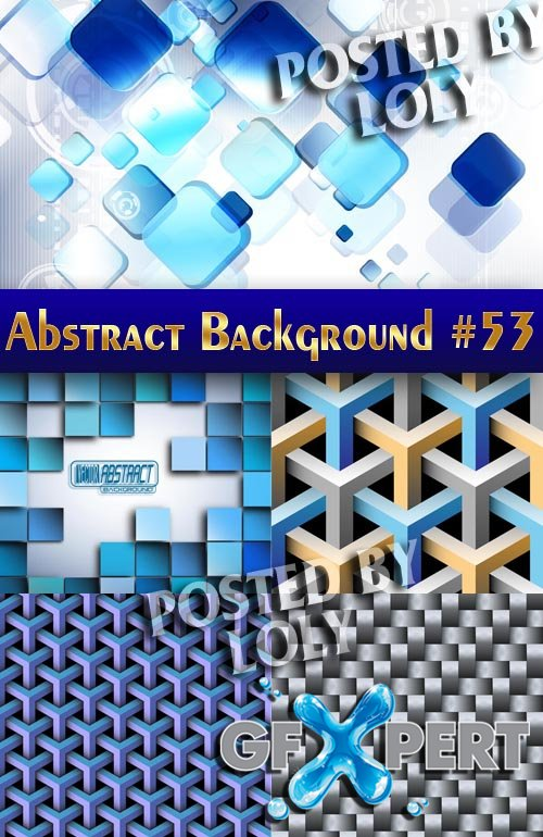 Vector Abstract Backgrounds #53 - Stock Vector