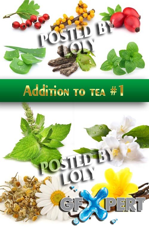 Additives for tea #1 - Stock Photo