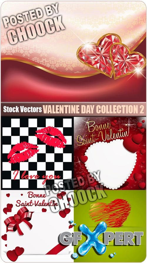 Valentine day collection 2 - Stock Vector