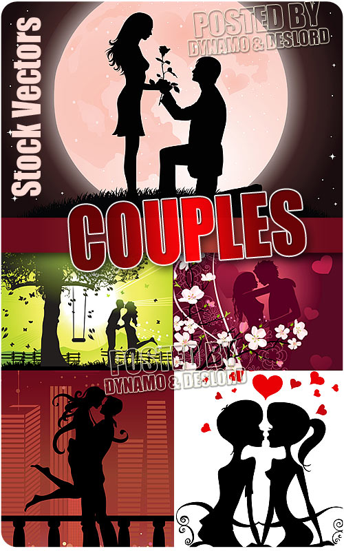 Couples - Stock Vectors