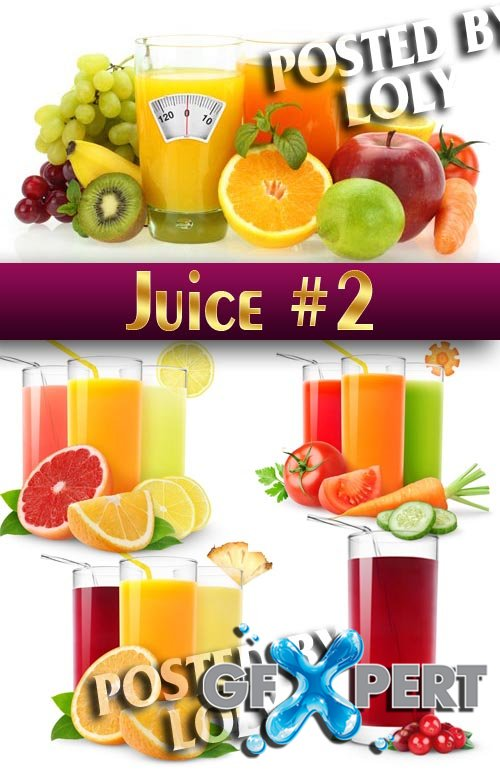 Fresh juice #2 - Stock Vector