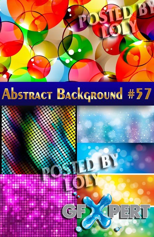 Vector Abstract Backgrounds #57 - Stock Vector