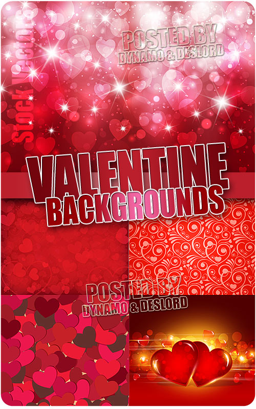 Valentine background - Stock Vectors