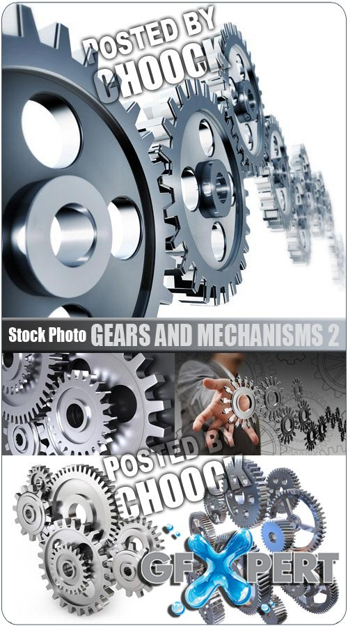 Gears and mechanisms 2 - Stock Photo