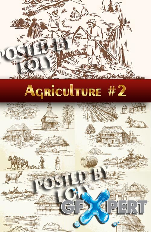 Agriculture #2 - Stock Vector