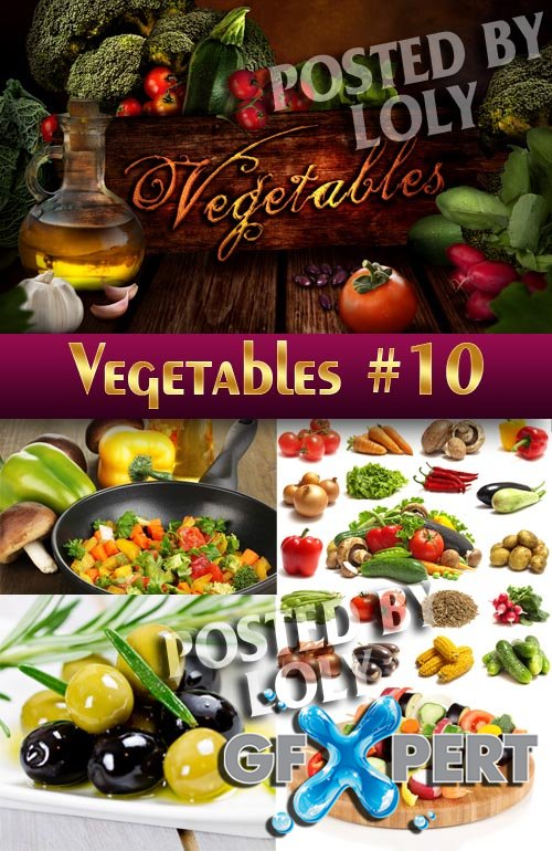 Fresh vegetables #10 - Stock Photo