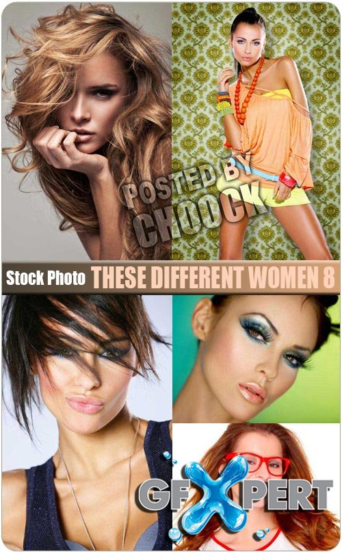 These different women 8 - Stock Photo