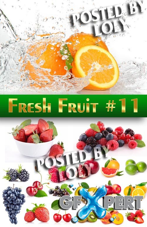 Fresh Fruit #11 - Stock Photo
