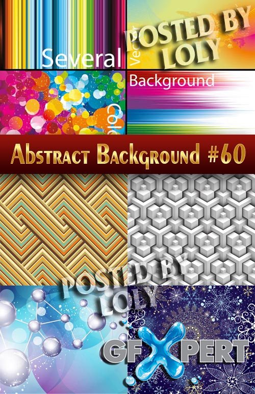 Vector Abstract Backgrounds #60 - Stock Vector