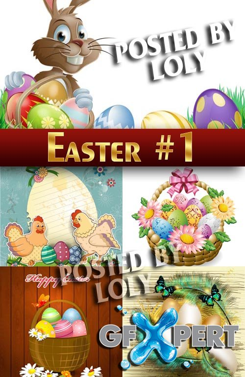 Easter #1 - Stock Vector