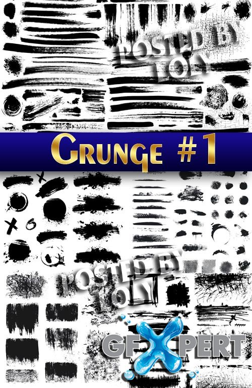 Grunge style #1 - Stock Vector